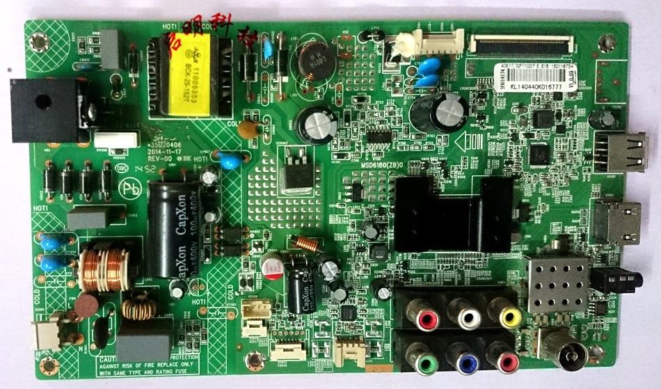 Original LED32F1160CF placa base MSC6180 (ZB) 0 35020406 pantalla 72000616YT LED32F1170CF