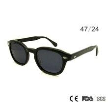 Retro Vintage Sunglasses Fashion Male Round Shapes Johnny Depp Rivet Sun Glasses For Men Brand Designer Glasses UV400 Goggles