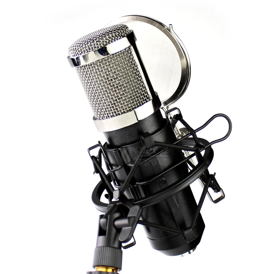 Montura antichoque metálica araña micrófono soporte viento pantalla filtro Pop Mic aislamiento escudo Shockmount para Telefunken M80 M81 ELA M251