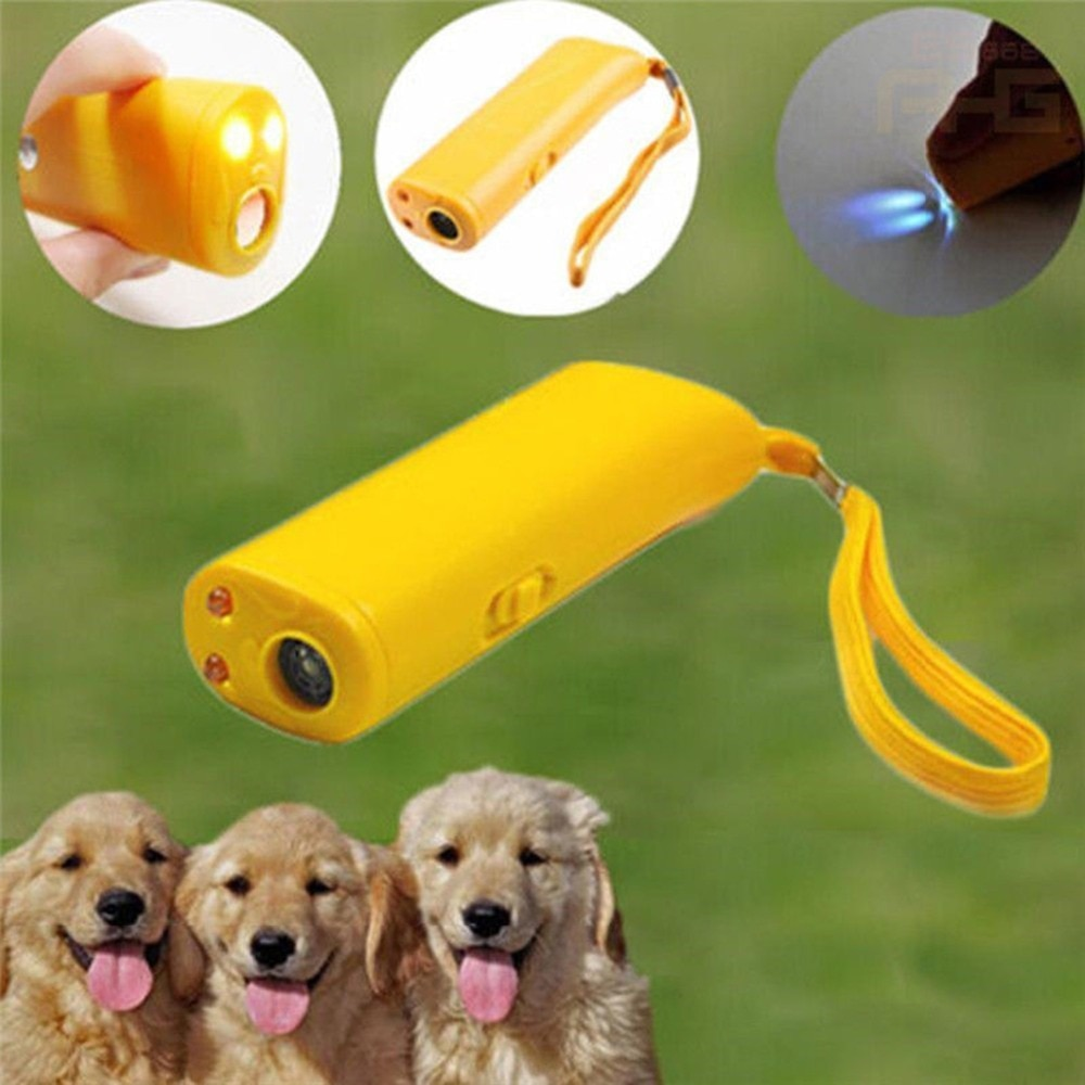 Ultrasonic Anti Barking Pet Dog Repeller Train Control Device Bark Stop Trainer electronic dog repel