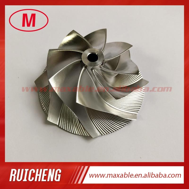 GTX3071 GEN ll 8 + 0 cuchillas 54,06/71,40mm punto rendimiento de fresado/rueda de compresor de fresado para 856801-0006/0005/0004