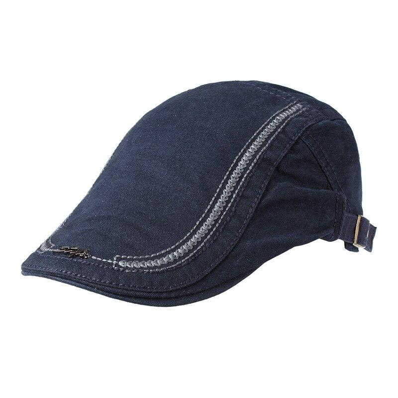 Fashion British Style Summer Sun Hats for Men Women High Quality Casual Cotton Women Beret cap Adjus