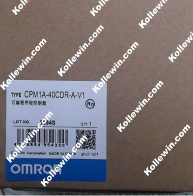 CPM1A-40CDR-A-V1 PARA Sysmac PLC, 24 input/16 saída de relé CPM1A40CDRAV1, Controlador Lógico programável CPM1A40CDRAV1,