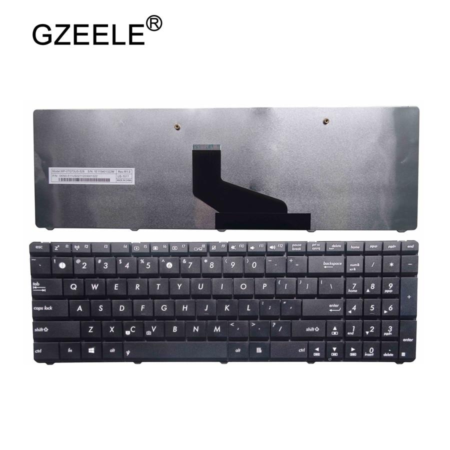 GZEELE new FOR ASUS K53U K53Z K53B K53BR X53BY X53U X73 N73 K73 K73T A53U K53T K53T X53Z X53BR X53E A53U English laptop keyboard