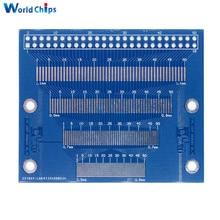 Plusieurs 0.5-1.2mm pas de broche 2.0-3.5 pouces TFT LCD SMD à DIP carte adaptateur Module dessai FPC PCB