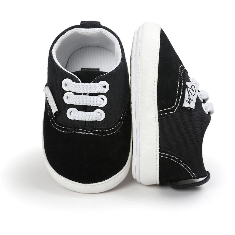 Wiosna Jesień Dziecko Noworodka Dziewczynka Chłopiec Miękkie Podeszwy antypoślizgowe Maluch Prewalker Niemowląt Sneaker Buty Na Co Dzień 6
