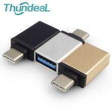 ThundeaL USB typu C do USB 3.0 OTG adapter do Macbooka Pro Samsung Galaxy S8 Nexus 6P 5X Google LG G5 HTC 10 typu C Kabel OTG