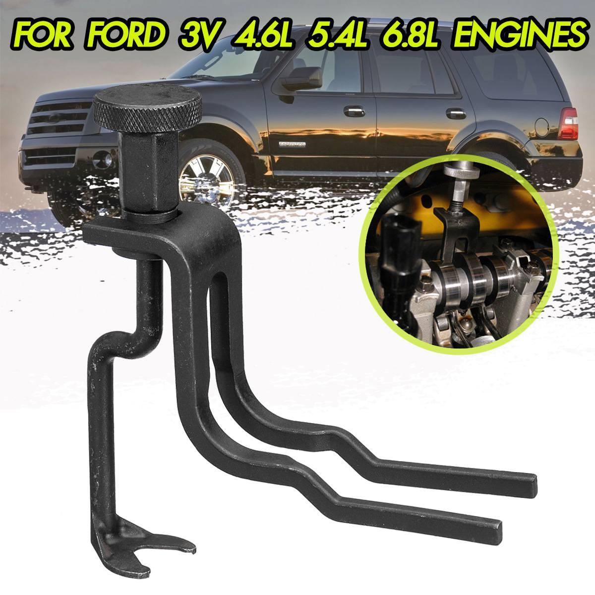 Car Valve Spring Compressor Tool For Ford/Mustang Expedition Explorer F-150 Super Duty Sport Trac 4.6 5.4 6.8 3V Engines