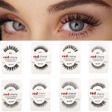 1 Pairs 100% Handmade Natural False Eyelashes 5 Styles Makeup Beauty False Eyelashes New Fashion Wom