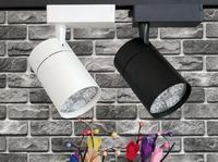 35W LED Track light Track lighting E27 PAR30 Clothing Shop Windows Showroom Exhibition Spotlight Ceiling Rail Spot Lamp