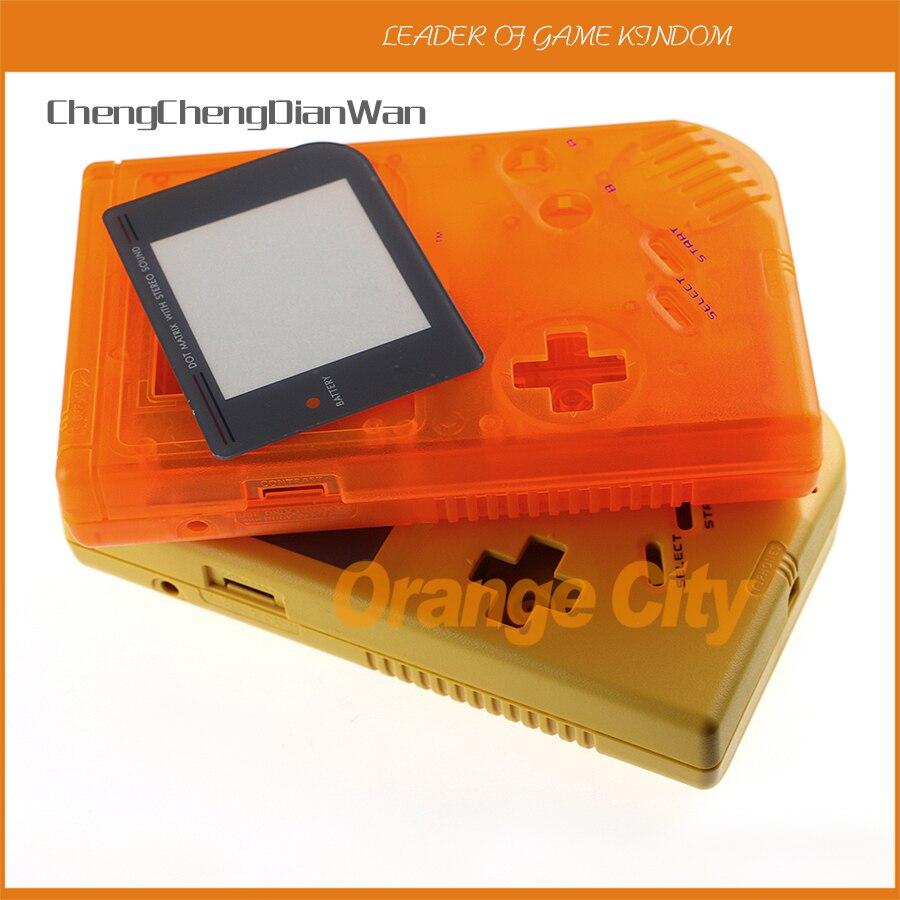 ChengChengDianWan 11 مجموعات/وحدة كامل الإسكان شل حالة لنينتندو GB Gameboy ألعاب حالة