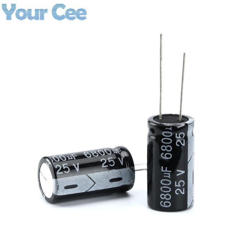 20 stücke Elektrolyt-kondensatoren 25 v 6800 uf 18X30 MM Aluminium-elektrolytkondensator
