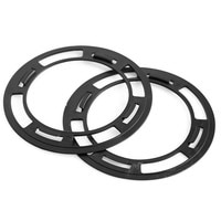 Plastic Ear Pads Mounting Rings For Hifiman Velour Leather Cushion HE Headphone HE560 HE400i HE350 HE400 HE500 HE300......