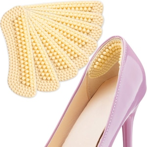 Heel Cushions Inserts,4 Pairs Heel Pads for Women Shoes High Heels Preventing Heel Rubbing and Blisters and Slip Out