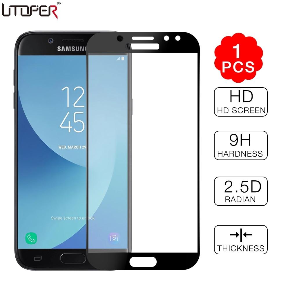 Закаленное стекло для Samsung Galaxy J7 2017 J7 Pro, Европейская версия для Samsung J3 J5 J7 2017 J 330 530 730 F, защита для экрана