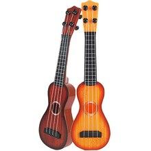 Arrival Hawaiian Instrument String Guitar Plastic Ukulele Beginner Gift 35*9*3cm Random Color