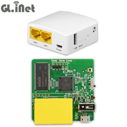 AR9331 GL-AR150 802.11n/g/b 150 150mbps Viagens Wireless Mini WiFi Router Wi-fi Repetidor Firmware OPENWRT OPENVPN 16 MB Flash/64 MB de RAM