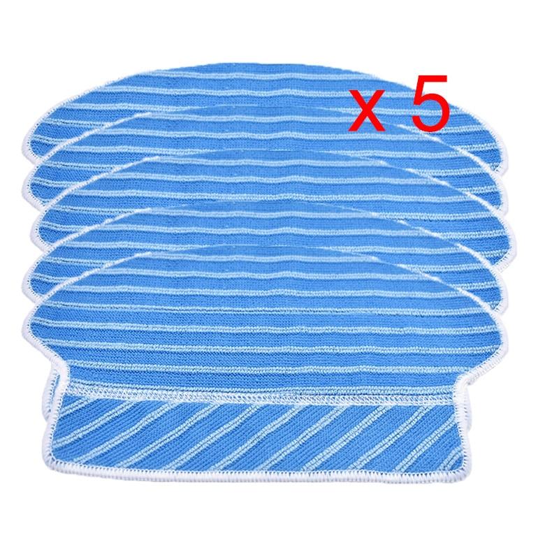 5 uds RP paño almohadillas para Proscenic 780T 790t KAKA JAZZ SUZUKA Cisne Robot repuestos de aspiradora