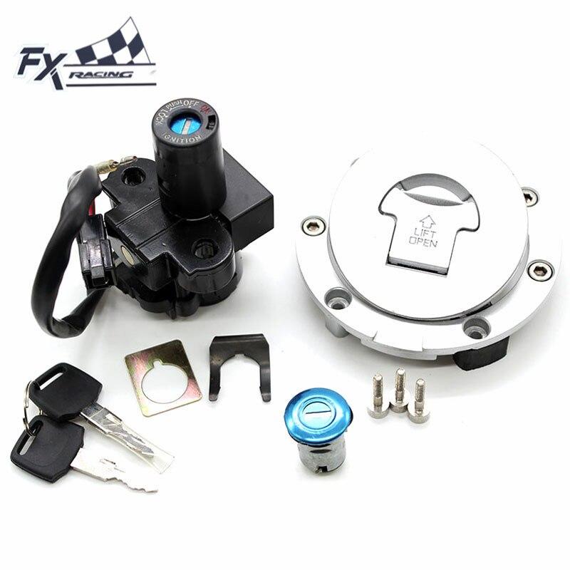 De la motocicleta 12V interruptor de encendido Gas Cap tapa de tanque de combustible asiento conjunto de candado y llave para Honda CBR600 F2 F3 CBR 600, 1991-1998, 1992 de 1993