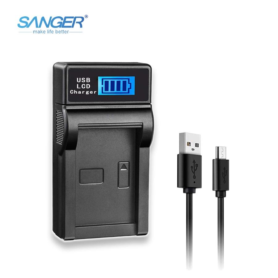 SANGER USB cargador de cámara de Sony NP-FW50 Battery Fit alfa NEX...