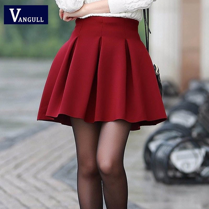 Women High Waist Short Skirts High Quality Fashion Autumn Spring Skirt Plus Size 3 Color Space Cotton Tutu Keep Warm Skirt