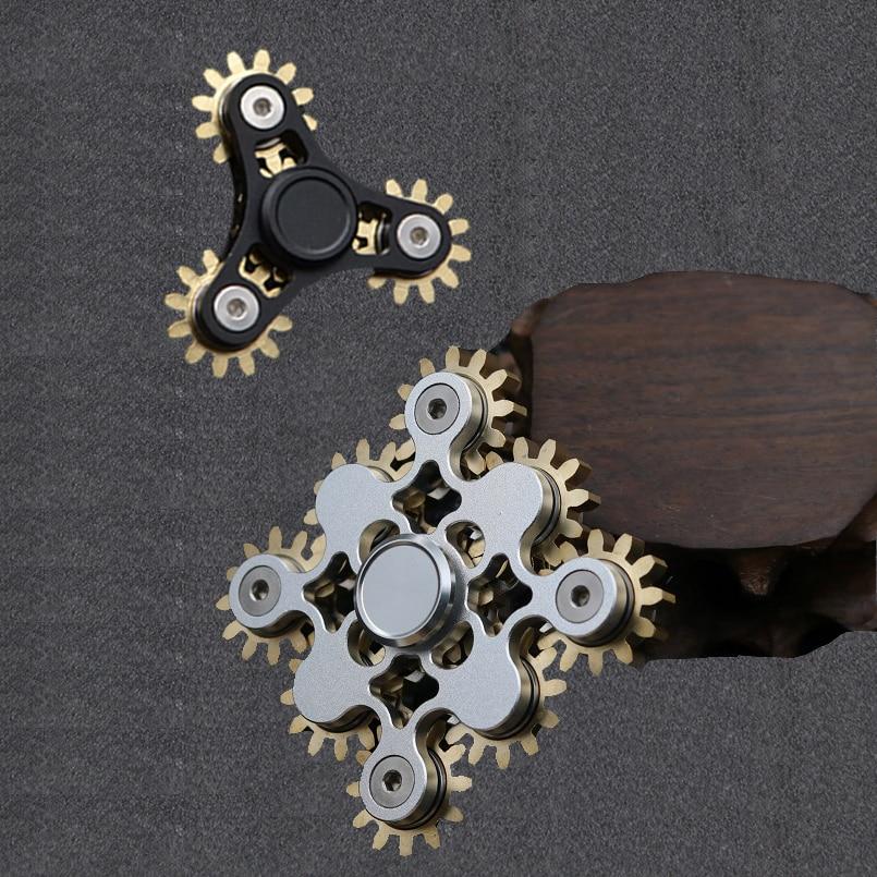 Металлический Спиннер для повседневного использования, ручной Спиннер для снятия стресса, игрушки для взрослых и детей