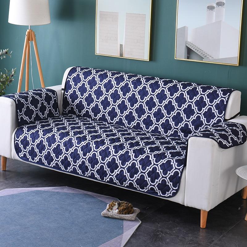 الجاكار التطريز الاقسام أريكة يغطي للإزالة كلب طفل حصيرة كرسي حامي أثاث قابل للغسل أغطية 1/2/3 مقاعد
