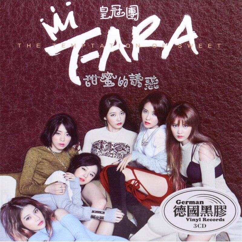 Бесплатная доставка: T ARA музыка Корона группы CD альбом Сладкое искушение