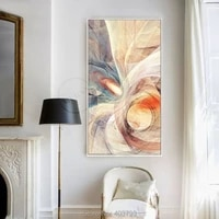 new modern abstract hand painted oil painting on canvas concise murals frameless paintings unframed art home decor