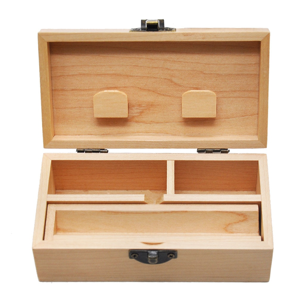 2019 neue Holz Lagerung Box Kampfer Holz Rolling Papier Tray Fall Lagerung Zigarette Fall Stash Box Boite Zigarette Rauch Werkzeug box