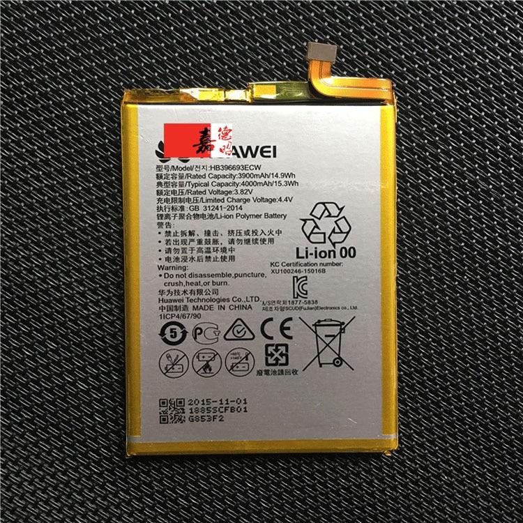 Copia de seguridad 100% Original para Huawei mate 8 Batería HB396693ECW para teléfono inteligente Huawei mate 8 + + número de seguimiento