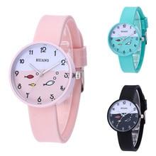 New listing children's watch Fashion fish quartz electronic kids watches for girls boys 1-10 year ol