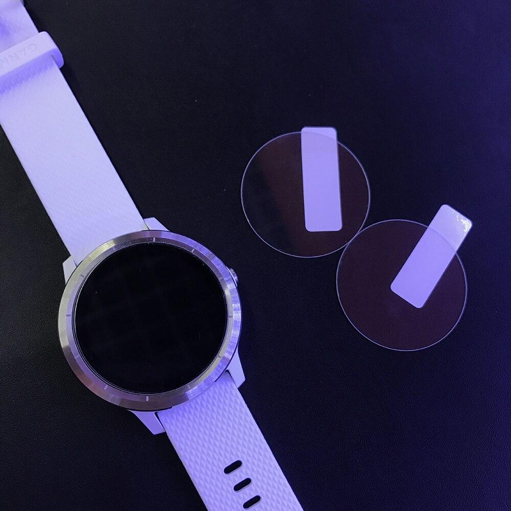 3 unids/lote 9 H 2.5D película protectora de pantalla Premium para Garmin Vivo active3 reloj inteligente para Garmin Vivoactive 3 templado de vidrio