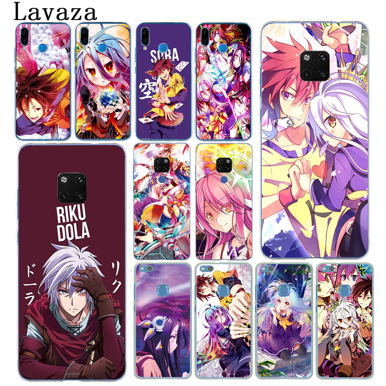 Lavaza vida No juego Anime teléfono caso duro para el Huawei Mate 30 20 Pro 10 Lite Y6 primer Nova 5I 4 3i 3 2i 2 Lite funda