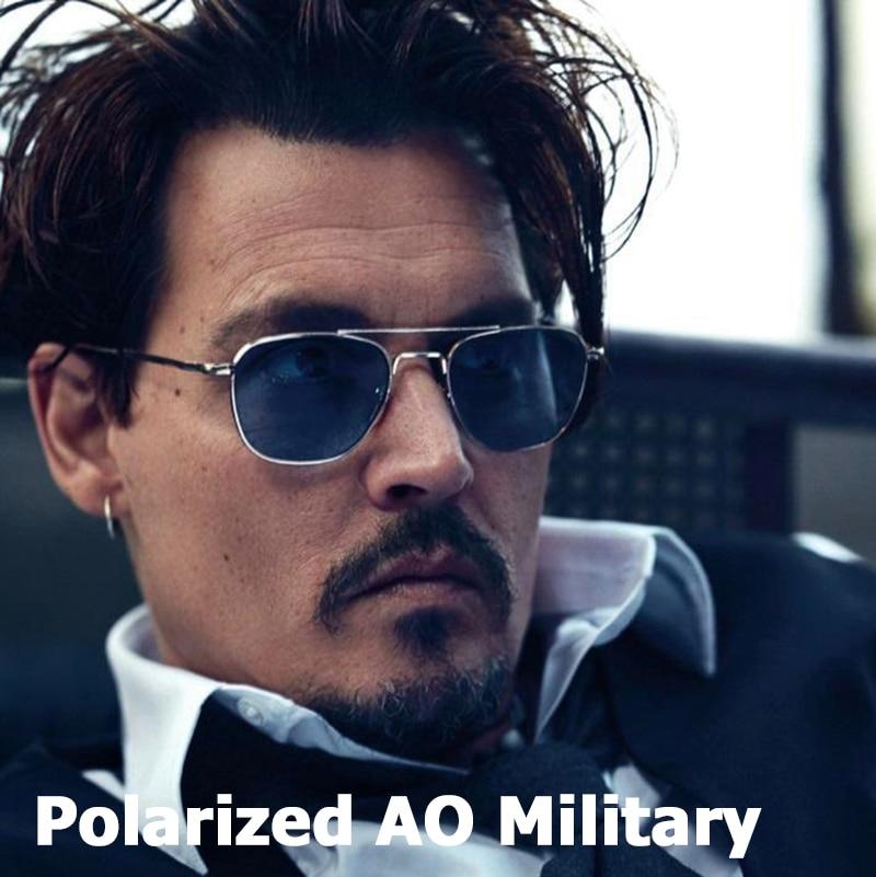 JackJad New Fashion Polarized AO Army Military Style Aviation Sunglasses Men Driving Brand Design Su