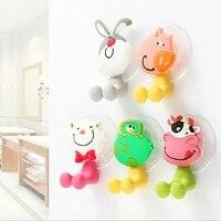 Ventouse de Style dessin anime Animal ensembles daccessoires de salle de bain pour brosse a dents brosses a dents