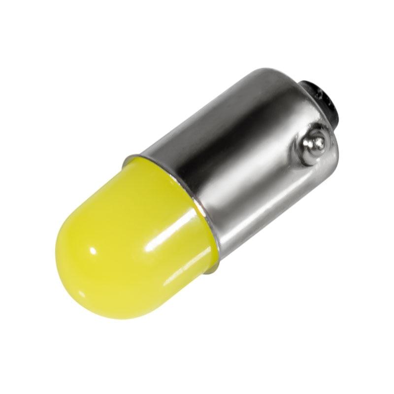1 pçs ba9s t4w 363 1895 233 super brilhante redondo 3d cob led luz da placa de licença do carro auto interior lâmpada marcador branco dc12v bulb watt light bulb headlight bulb colors -