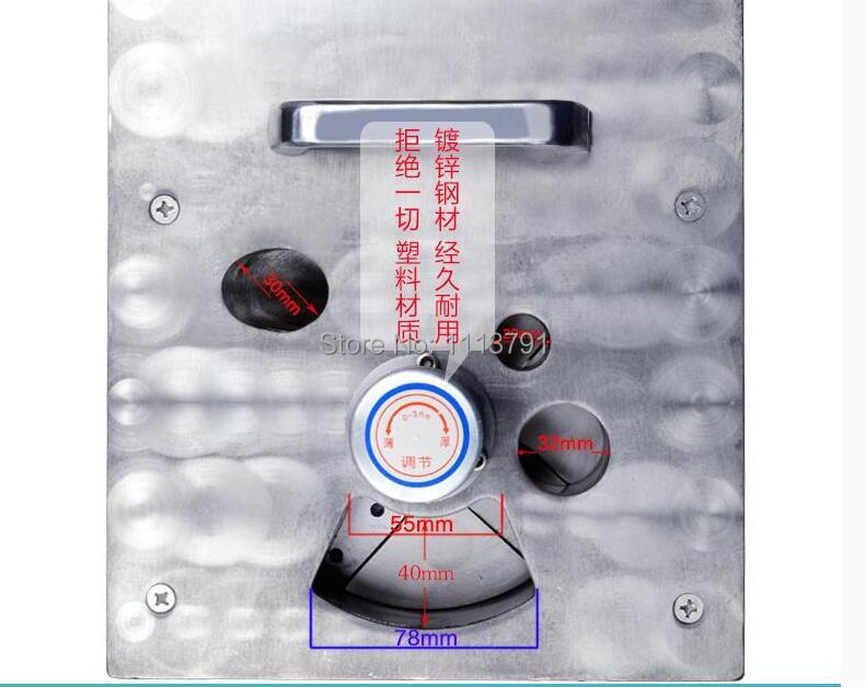 DYQ401B medicine slicer, American ginseng  slice machine ,ginseng slice device enlarge