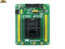 QFP100 LQFP100 QFP STM32F2 STM32F4 STM32 IC тестовая розетка программирующий Адаптер 0,5 Шаг Бесплатная доставка