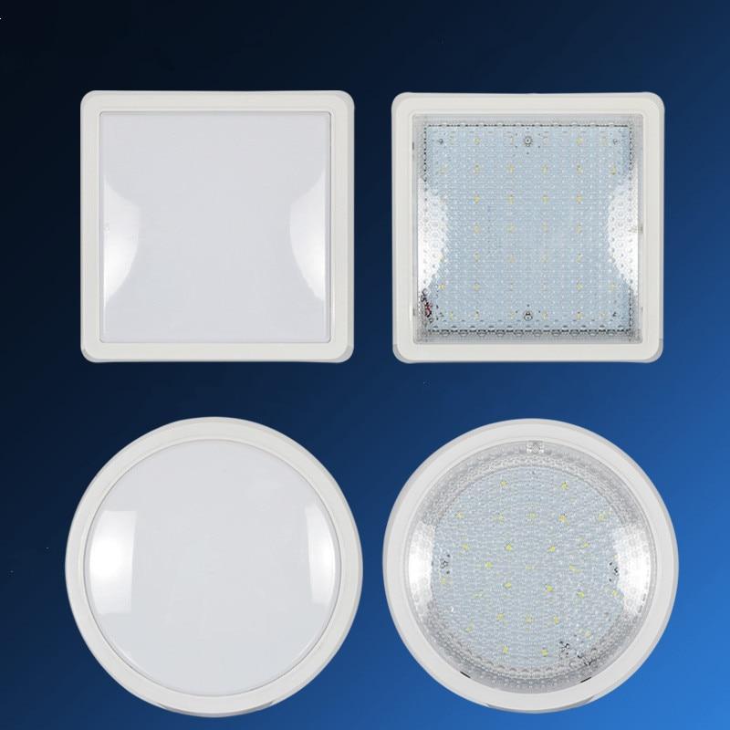 Green energy-saving  ceiling lamp round or square  Simple modern LED  Kitchen lights waterproof light  fog lamp indoor lighting