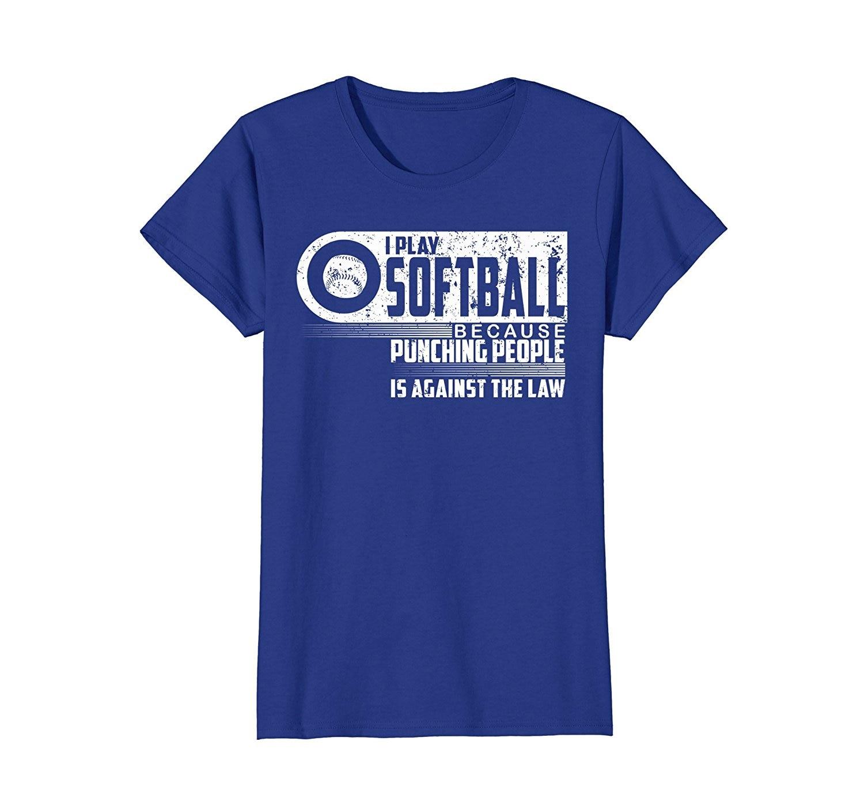 2019 Nova Fresco Camisa Camiseta EU Jogar Softball Fastpitch Softball Passo Lento T-shirt Da Forma do Algodão