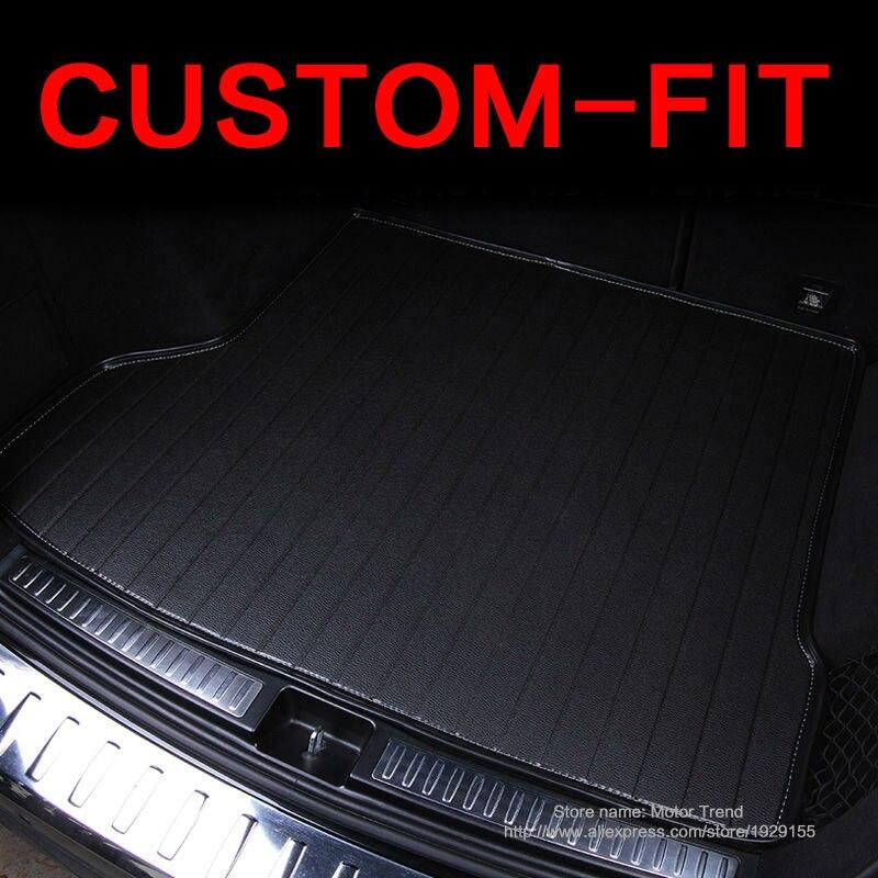 Estera de maletero de coche de ajuste personalizado para Mazda 6/2, MX-5 de CX-5, CX-7 3D, estilismo para coche, protección para toda condición, bandeja climática, forro de carga para alfombra