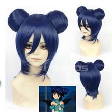 Nouveau Tokyo Mew Mew manga Minto Aizawa Cosplay perruque coiffure bleu perruque courte résistant à la chaleur + casquette + piste