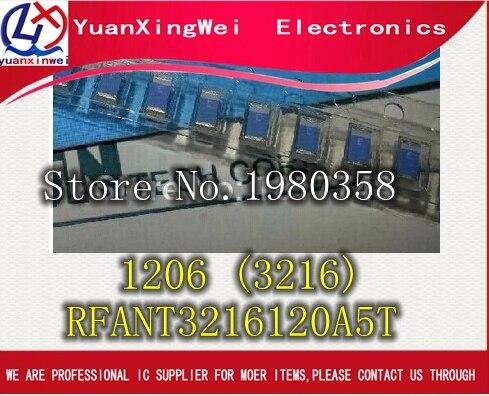 Producto Walsin RF 2,4 GHZ antena cerámica 1206 (3216) tamaño LTCC Antena de Chip multicapa-para la banda ismo (RFANT3216120A5T)
