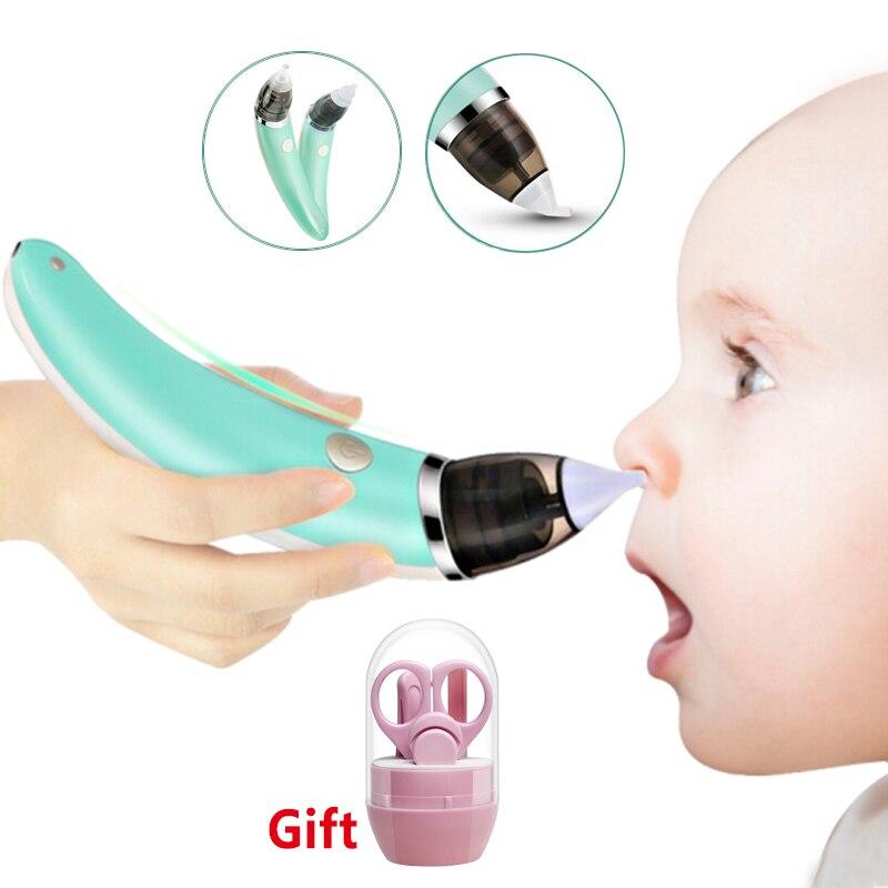Bebê bebê bebê nasal aspirador elétrico nariz mais limpo bebê recém-nascido otário mais limpo sniffling equipamentos seguro higiênico nariz aspirador
