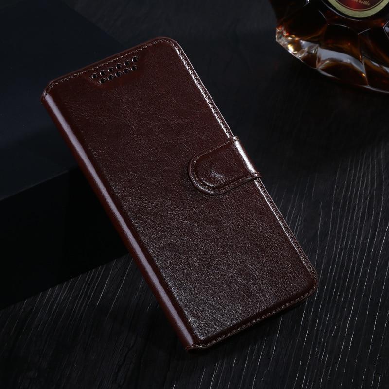 Кожаный чехол-бумажник для телефона Sony Xperia Z1 Z2 Z4 Z3 Z5 Compact XA XA1 XA2 XP L1 L2 XZ XZ1 Compact E3 E4 Flip Stand Book