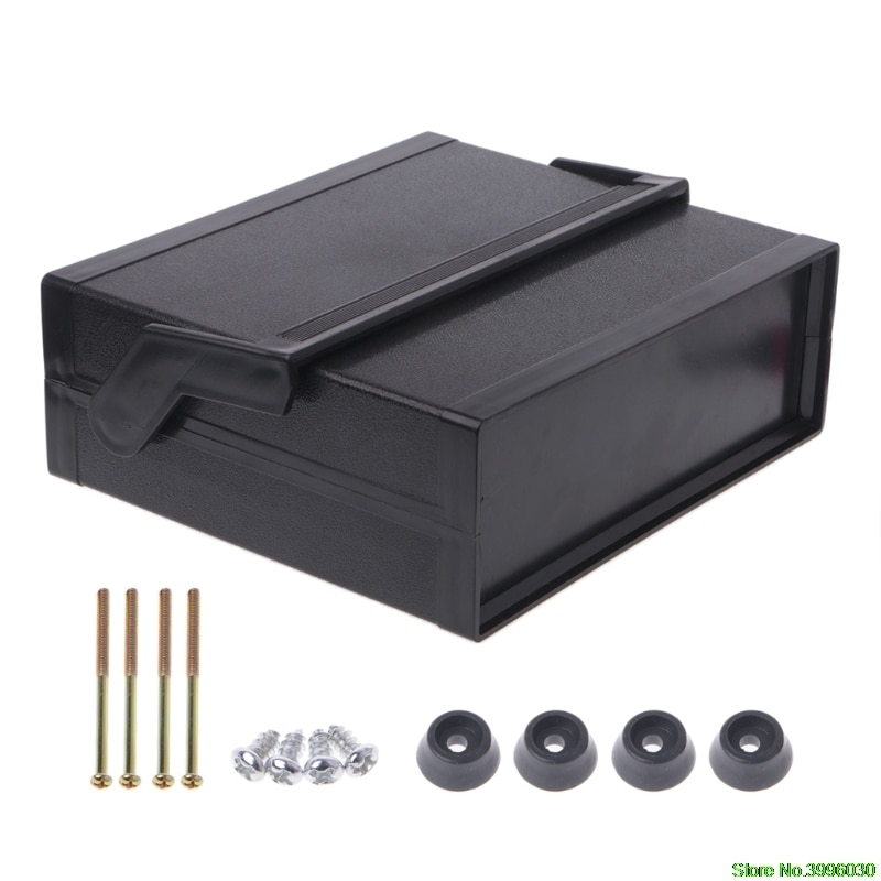 Waterproof Plastic Electronic Enclosure Project Box Black 200x175x70mm