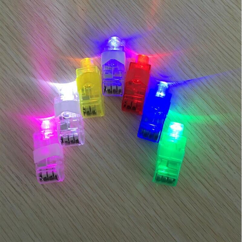 Lumière de doigt lueur Laser   Faisceaux de doigts torche barre de doigt, accessoire de joie de Concert, Halloween fournitures de fête