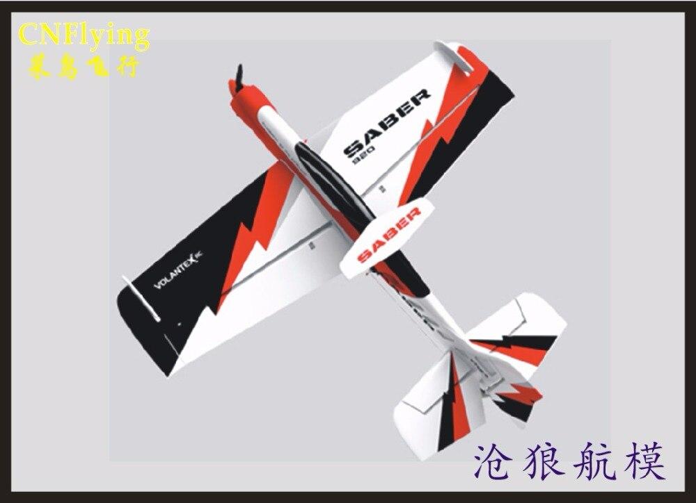 Avión EPO/Avión RC F3D/pasatiempo de modelos RC, juguetes wingspan 920MM SABER 920 3D avión, el mejor avión 3D (tenga juego PNP o juego de KIT)