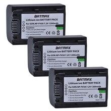 3-Pack NP-FV50 FV50 Kamera Li-ionen-batterien für Sony NP FV50 HDR-CX150E CX170 CX300 D6544, für sony NPFV50 zubehör